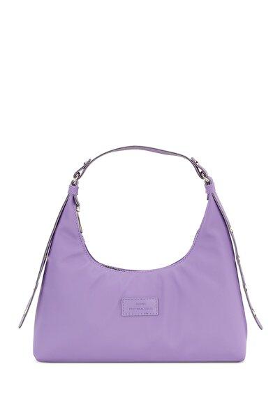 Housebags Kadın Lila Baguette Çanta 205
