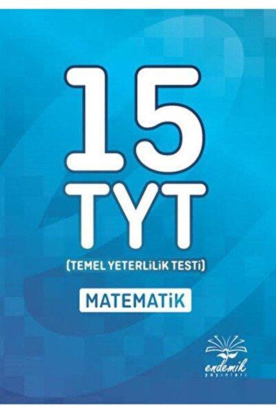 Endemik Yayınları Tyt Matematik 15li Deneme