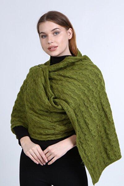 uniq store Kadın Yeşil Uzun Atkı Model-105