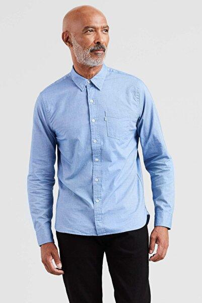 Levi's Erkek Mavi Gömlek 65824-0337