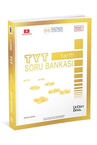 Üç Dört Beş Yayıncılık 345 Yayınları Tyt Tarih Soru Bankası 2021