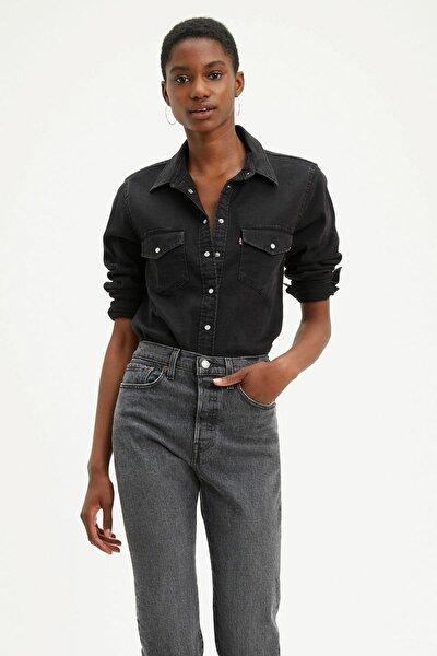 Levi's Essentıal Western Black Jean Gömlek 16786-0004