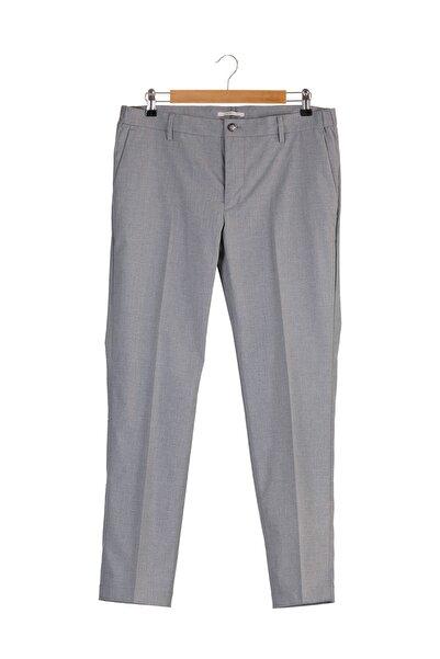 MANGO Man Erkek Açık/Pastel Gri Pantolon 43043693