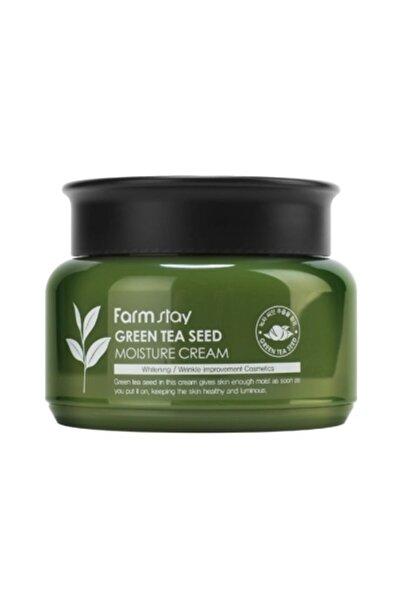 Farmstay Yeşil Çay Tohumlu Cilt Tonunu Eşitleyen, Kırışıklık Karşıtı Nemlendirici 100g