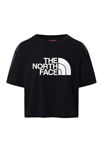 THE NORTH FACE W Cropped Easy Tee Kadın Siyah Tshirt Nf0a4t1rjk31