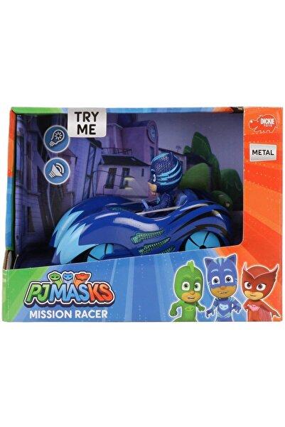 Dickie Toys Pj Masks Mission Racer Catboy - Car Kedi Çocuk Ve Arabası Pj Maskeliler Figür Oyuncak