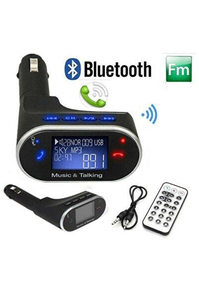 Sezy Yüksek Sürüm Bluetooth Usb Araç Kiti Mp3 Çalar Fm Transmitter