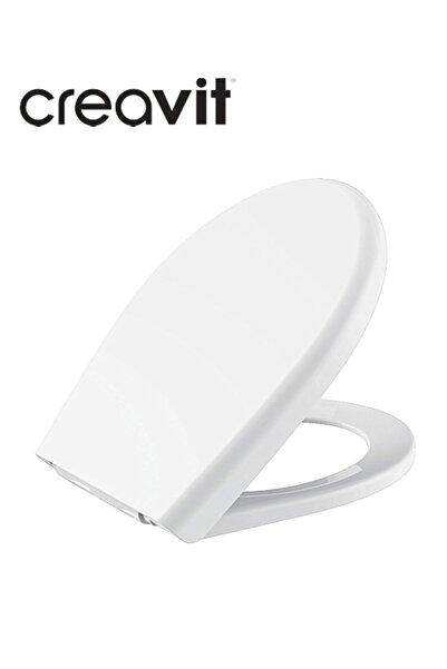 Creavit Çınar Pp Thermoplast Yavaş Kapanan Beyaz Klozet Kapağı