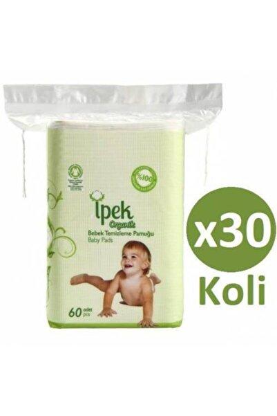 ipek çocuk Ipek Organik Bebek Temizleme Pamuğu X 30 Paket