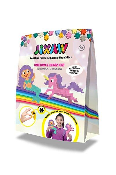 Jixaw Jıxaw Unicorn & Deniz Kızı Puzzle Mutluminik