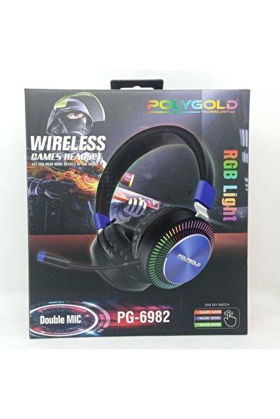Evin Polygold Pg-6982 Rgb Bluetoothlu Oyuncu Kulaklığı