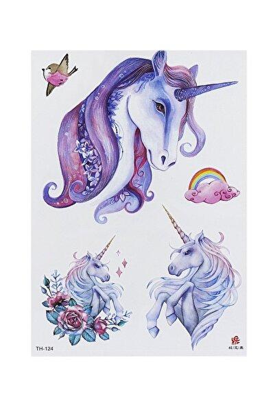 TAKIŞTIR Geçici Unicorn Dövme
