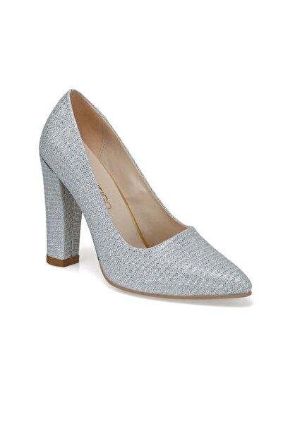 Butigo Brigette Gümüş Kadın Topuklu Ayakkabı