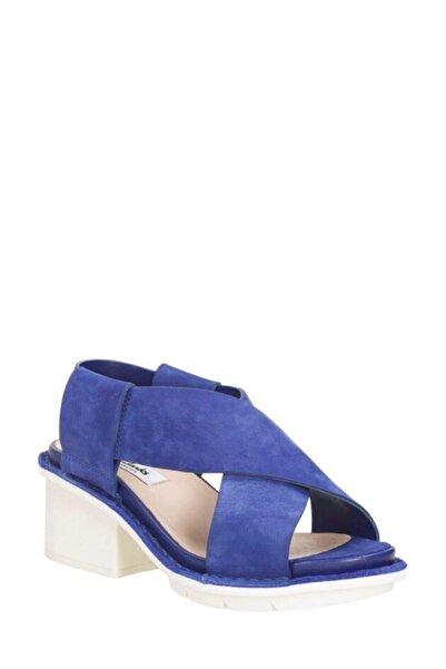 CLARKS Hexton Gala Platform Mavi Renk Ayakkabı