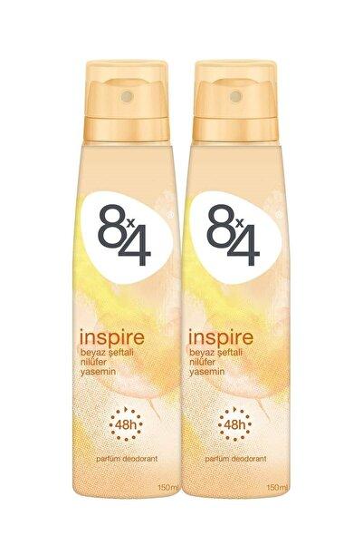 8x4 İnspire Kadın Deodorant Sprey 150 ml 2 Adet