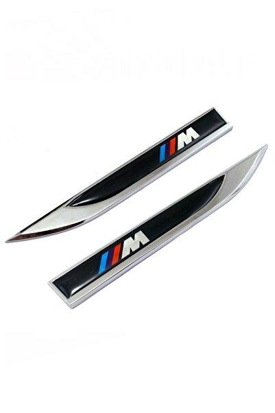 Element 3m Logo Çamurluk Bıçağı Yan Çamurluk Bıcak Arması Siyah Bmw M 3 Boyutlu