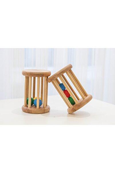 Pegdolls Crawl Toy (Ahşap Emekleme Oyuncağı,çıngırak)