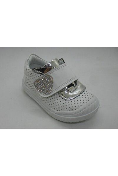 Toddler 0101 Deri Ortopedik Taşlı Kız Ayakkabı 20