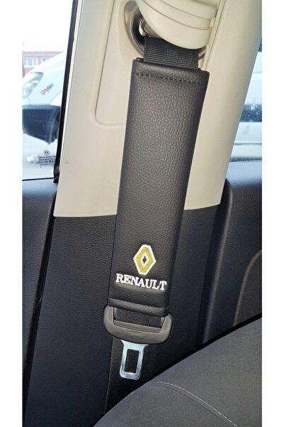 mutlu oto Renault Deri Emniyet Kemer Kılıfı Siyah