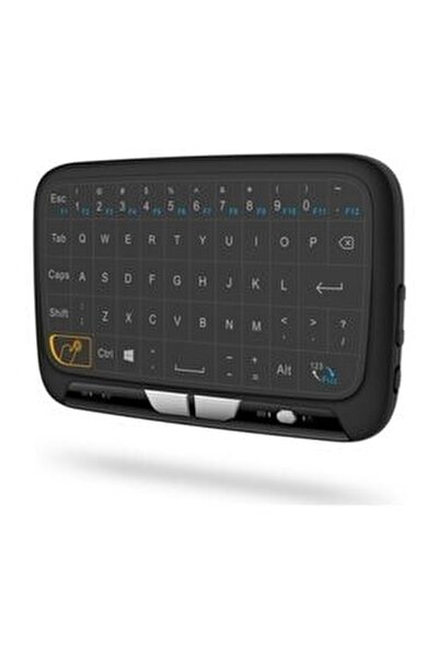 H18 Kablosuz Mini Klavye Touchpad Şarjlı Smart Tv Dokunmatik Mouse