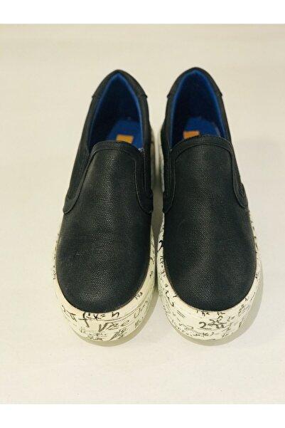 Awon Unisex Siyah Ayakkabı