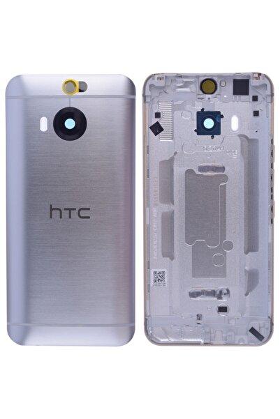 Master Cep Htc One M9+ Plus Arka Pil Batarya Kapağı - Gümüş