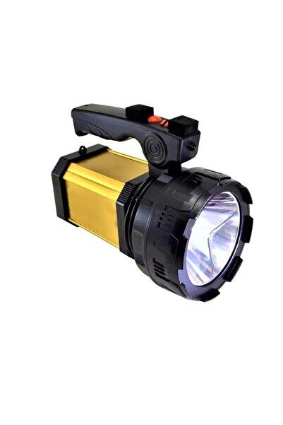 yopigo Yp-8100l Prejektör 25w Led Şarjlı El Feneri Sos Ve Uzun Menzil Powerbank Usb Çıkış + Yan Aydınlatma