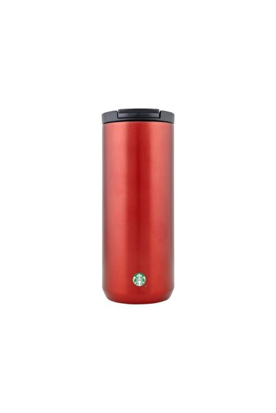 Starbucks ® Mat Kırmızı Renkli Termos - 355 Ml