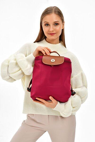 TH Bags Kadın / Kız Sırt Çantası Th25300 Bordo