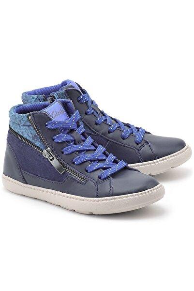 CLARKS Kız Çocuk Mavi Ortopedik Casual Ayakkabı