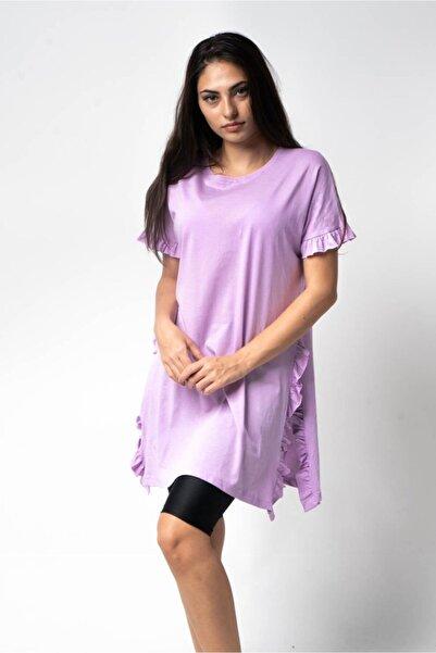 CNS Fırfırlı Uzun T-shirt
