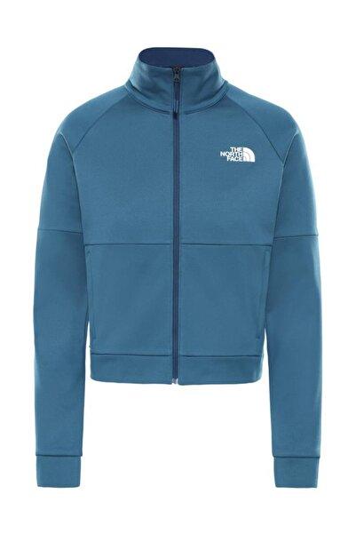THE NORTH FACE Active Trail Tam Fermuarlı Kadın Sweatshirt Mavi