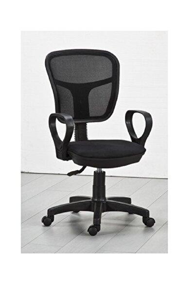 CLK Fileli Bilgisayar Ofis Çalışma Sandalyesi Koltuğu Siyah