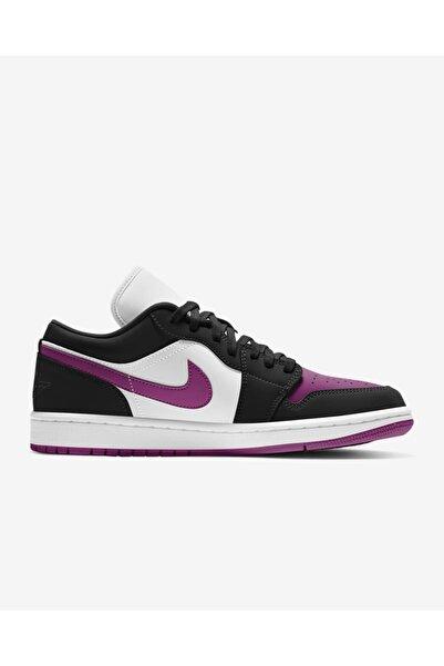 Nike Erkek Basketbol Ayakkabısı Jordan 1 Low Black Cactus Flower Dc0774-005