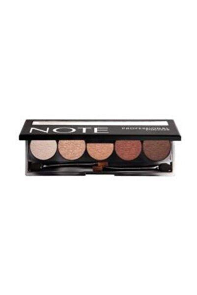 NOTE Professional Eyeshadow 5'li Far Paleti 104