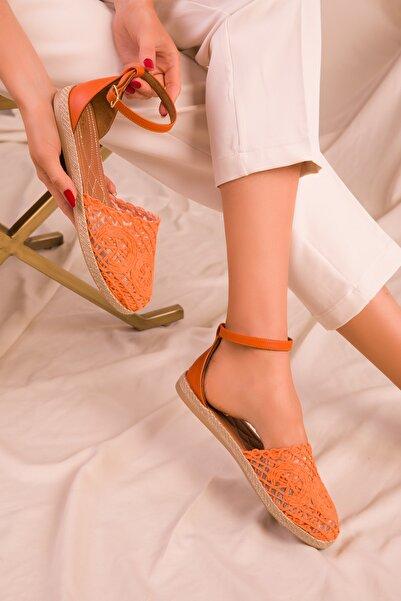SOHO Turuncu Kadın Sandalet 15046