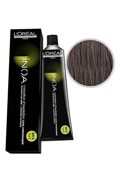 İNOA Saç Boyası 6,1 Koyu Kumral Küllü 3474630414747 (Oksidansız)