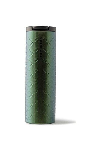 Starbucks Klasik Seri Termos - Parıltılı Yeşil Renkli 473 Ml
