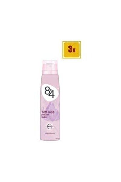Soft Kiss Sprey Deodorant 150 Ml X 3 Adet