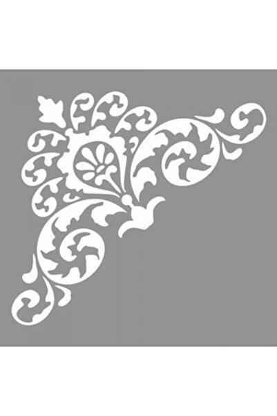 Artikel Tribal Kelebek 6 Stencil Boyama Şablonu 30x30 Cm, Duvar Stencil, Fayans Stencil, Mobilya Stencil