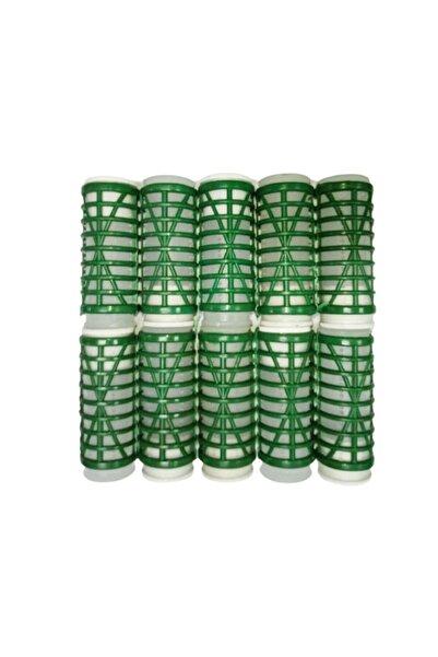 FUMO Isıtmalı Bigudi 10'lu - Yeşil