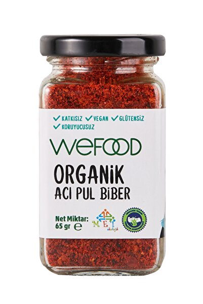 Wefood Organik Acı Pul Biber 65 Gr