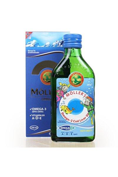 Mollers Omega 3 Balık Yağı Şurubu Tutti Frutti Aromalı 250 ml