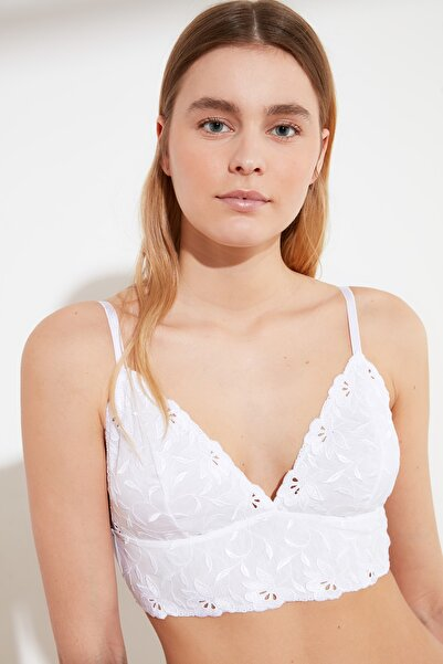TRENDYOLMİLLA Beyaz Dantelli Sütyen THMAW21SU0084