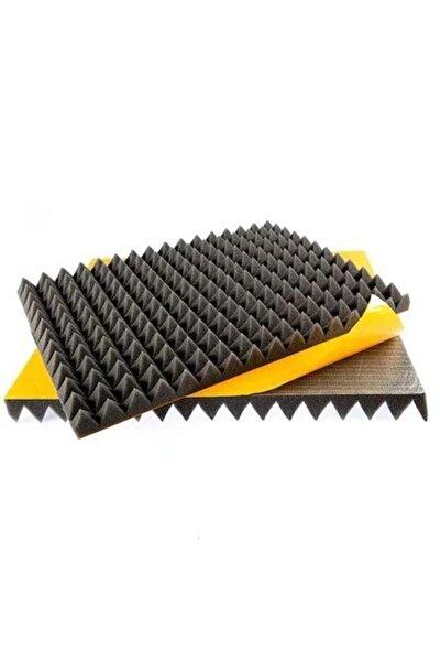 ONLİNEUYGUN Kendinden Yapışkanlı Ses Yalıtm Akustik Piramit Süngeri  80 Dns 40mm 50x50
