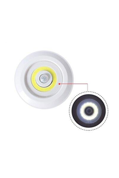 Bigem Pilli Sensörlü Gece Lambası Dolap Içi Işıkları Tekli Dolap Içi Aydınlatma Gece Hareket Sensörü