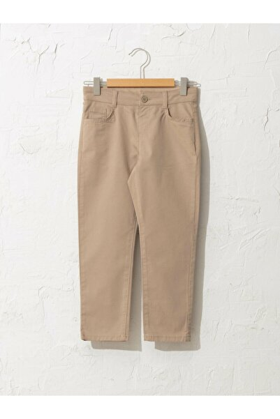 LC Waikiki Erkek Çocuk Bej Pantolon
