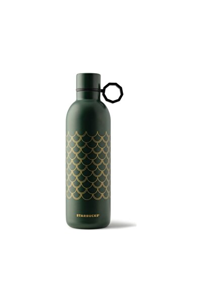 Starbucks ® Klasik Seri Termos - Koyu Yeşil Renkli 591ml