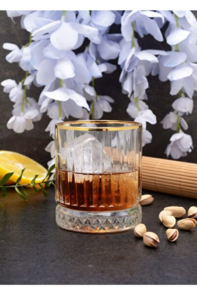 Paşabahçe Golden Touch Elysia Meşrubat Bardağı 4'lü 210 cc