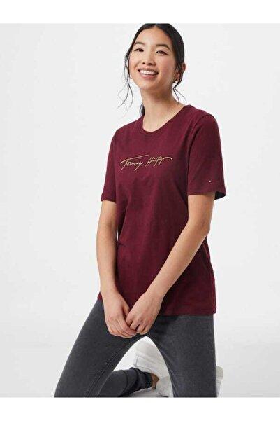 Tommy Hilfiger Icon Işlemeli Kadın Tshirt